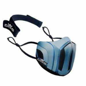 Xator Combat Face Protector Mask (Light Blue) - RoadGods