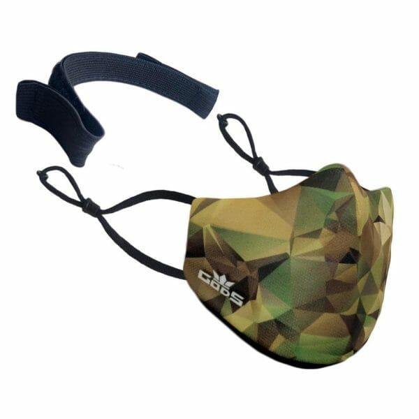 Xator Combat Face Protector Mask (Yellow Green) - RoadGods