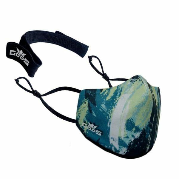 Xator Combat Face Protector Mask (Sea Green) - RoadGods