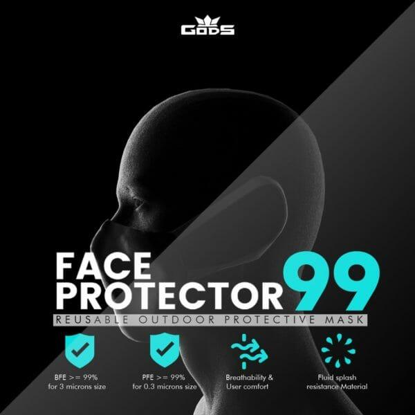 GODS FACE PROTECTOR 99 - RoadGods