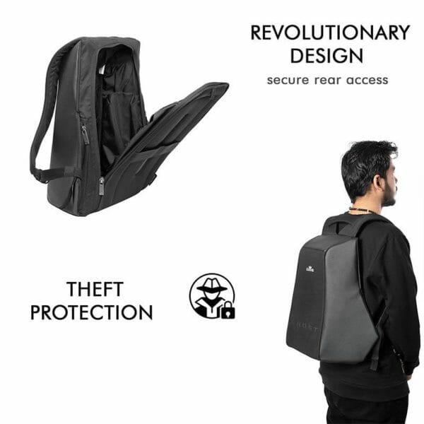 Ghost - Anti-Theft Laptop Backpack (Daring Texture) - RoadGods