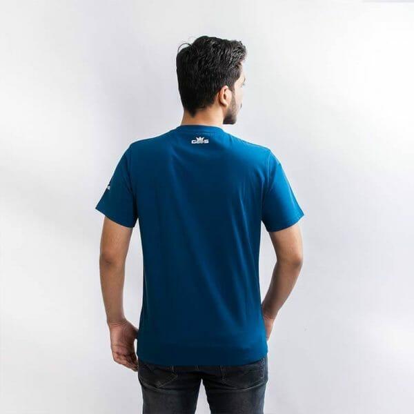 Eureka Men's Blue T-shirt - Gods Exclusive Collection - RoadGods