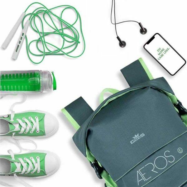 AEROS 10 - Expandable (6+4)L Light-Weight Backpack - RoadGods