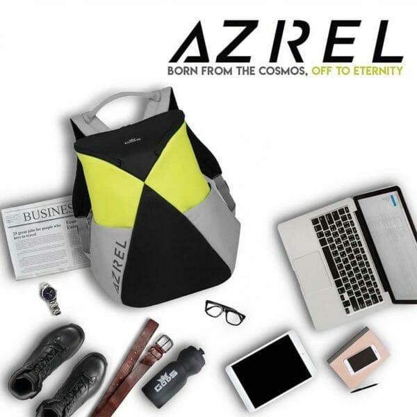 Azrel 15.6 inch Green Laptop Backpack - RoadGods