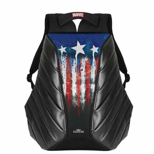 Marvel Avengers Exclusive Captain America Xator 15.6 Inch Laptop Backpack - RoadGods