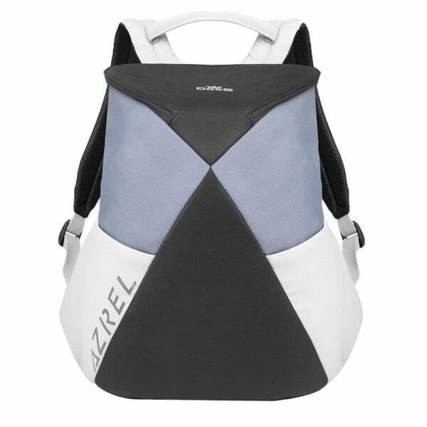 Azrel 15.6 inch Grey Laptop Backpack - RoadGods