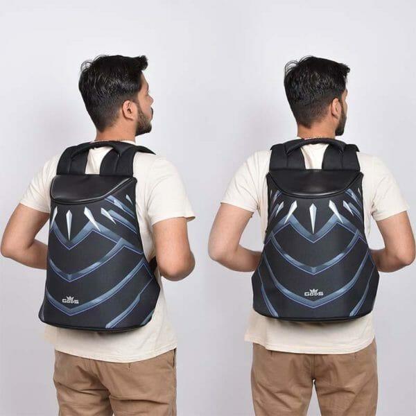 GODS Marvel Avengers Exclusive Black Panther Zarc 15.6 Inch Laptop Backpack - RoadGods