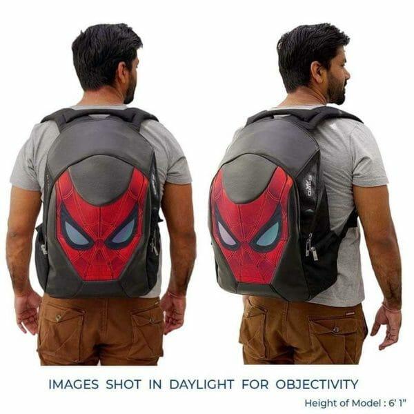 Marvel Avengers Exclusive Spider Man Rudra 15.6 Inch Laptop Backpack - RoadGods
