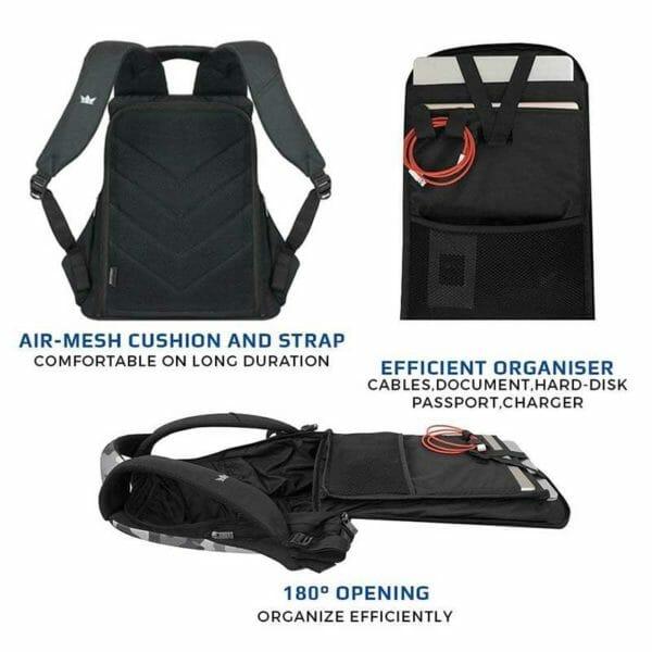 Zarc Anti-Theft Laptop Backpack (Camouflage) - RoadGods