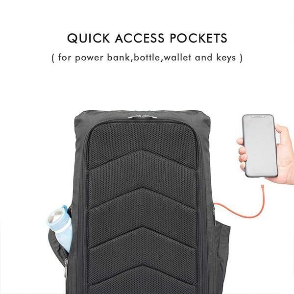 Akura Anti-Theft 15.6 inch Laptop Backpack (Melange) - RoadGods