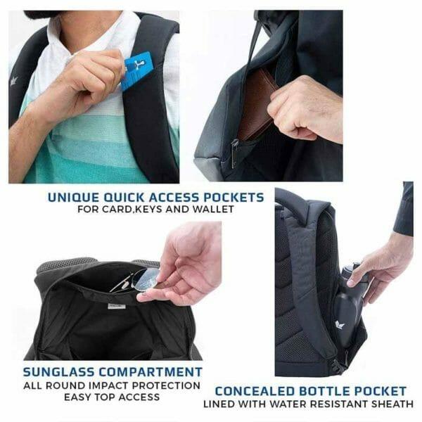 Zarc Anti-Theft Laptop Backpack - RoadGods