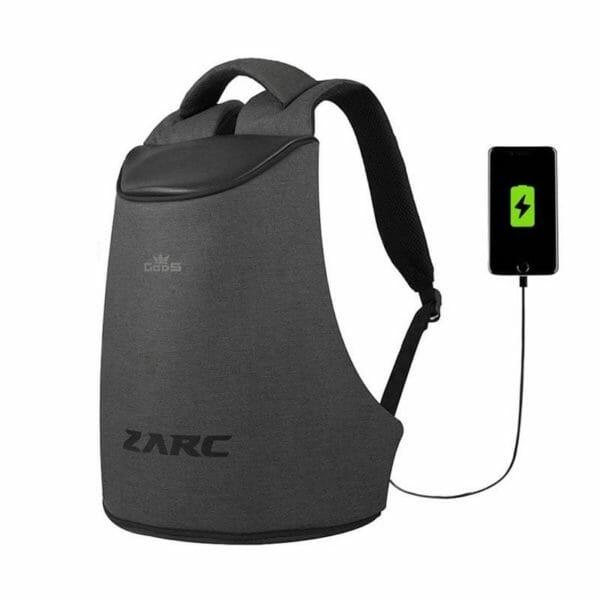 Zarc Anti-Theft Laptop Backpack (Melange) - RoadGods