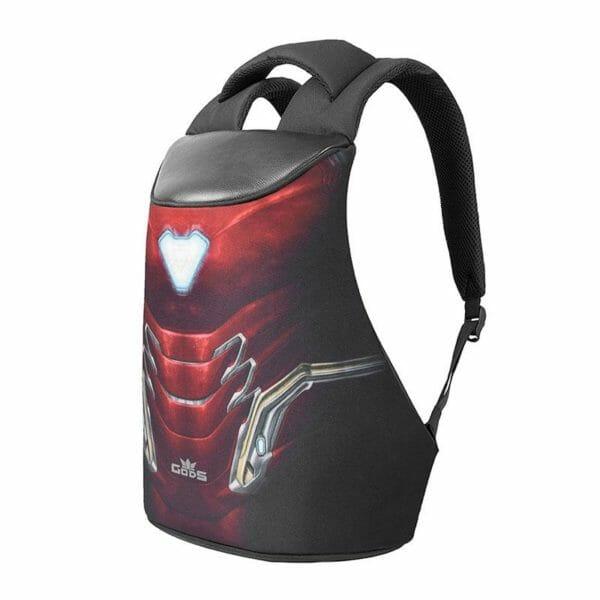GODS Marvel Avengers Exclusive Iron Man Zarc 15.6 Inch Laptop Backpack - RoadGods